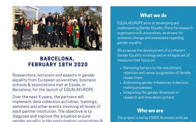 First Equal4Europe Newsletter Online